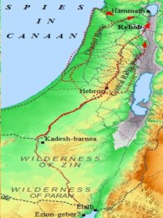 The spies of Israel searched all of the land of Canaan. What they found was a land full of giants.