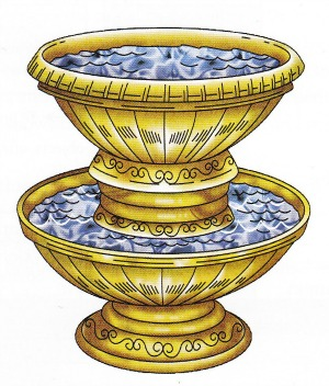 The Bronze Laver used for purification