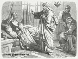 Isaiah confronts King Hezekiah to trust God - and not the Egyptians.