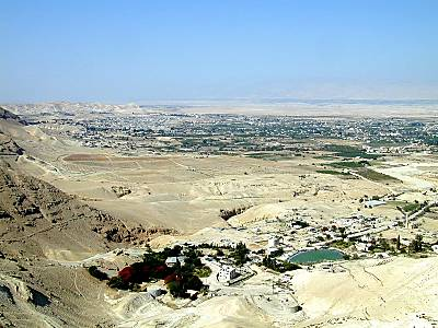 A picture of Jericho as it stands today