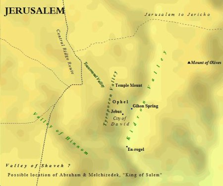The Topography of Ancient Jerusalem in the Bronze Age