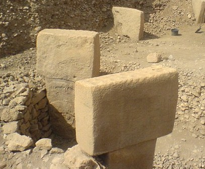 The Gobekli Stones in Gobekli, Turkey. One theory places the Garden of Eden here.