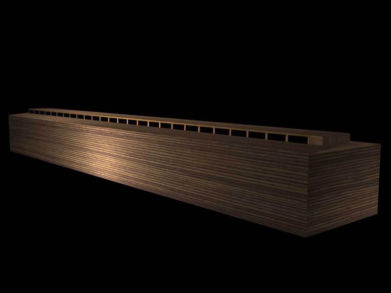 A Computerized Image of Noah's Ark