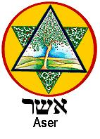 Tribe of Asher tribal emblem.