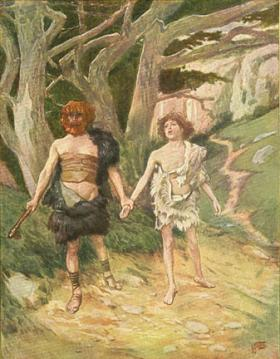 Cain Leads Able into the Fields to Murder Him