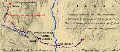 Joshua respected the tribe of Manassseh and the other Transjordan tribes of Israel.