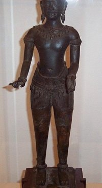 An ancient Hindu god.