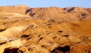 The Judean Desert Outside of Jerusalem