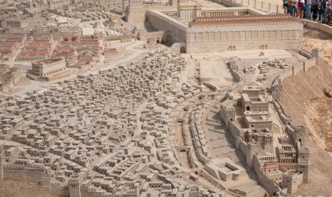 A complete replica of ancient Jerusalem during the early first century AD, the time of Jesus.