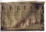 An ancient relief depicting Persian soldiers.