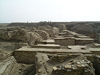 The royal tombs of Ur date back to the middle of the third millennium BCE.