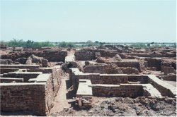Ancient Sindh, captured by the Persian army.