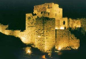 A Castle from the Ruins of Byblos
