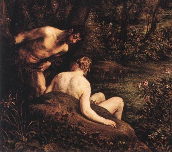 An artists rendition of the Garden of Eden.