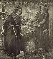 Depiction of Leah and Rachel.