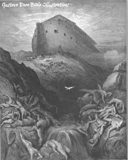 Noahs Ark rode upon the waters of the Flood with two of every living creature.
