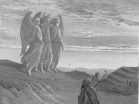 Abraham is visited by YHWH and His Watchers.