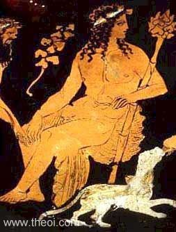 The Greek god Dionysius.