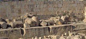 Monolithic stones of Baalbek.