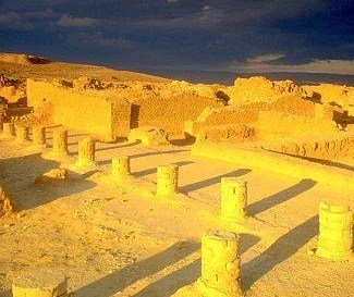 The ancient remains of King Herod's palace attest to its extravagance and beauty at the time.