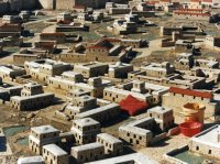Houses in ancient Jerusalem.