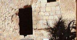 A rock hewn tomb similar to that of Jesus'.