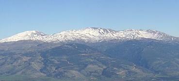 The towering peak of Mt. Herman.