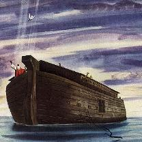 A Painting of Noah's Ark