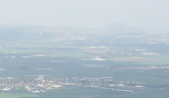 The valley of Megiddo, located on the outskirts of the Jezreel Valley.