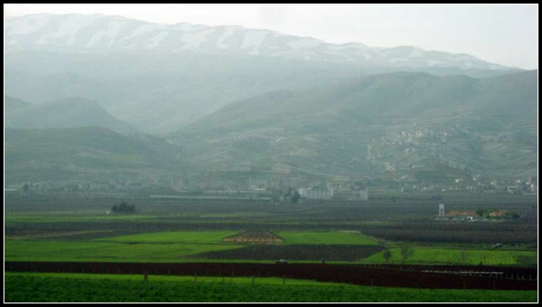 The Beqa Valley