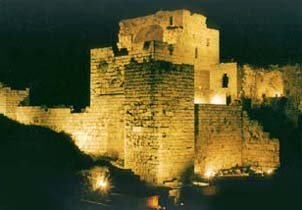A 10th Century AD castle in Byblos, Lebanon.