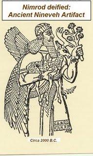 The deification of Nimrod, ca. 2000 BC.