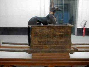 The Anubis chest of King  Tut